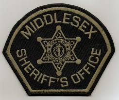 Middlesex sheriff patch